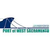 Port of West Sacramento logo